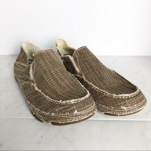 Tony Lama Shoes - ~Tony Lama~ Straw Canvas Shoe